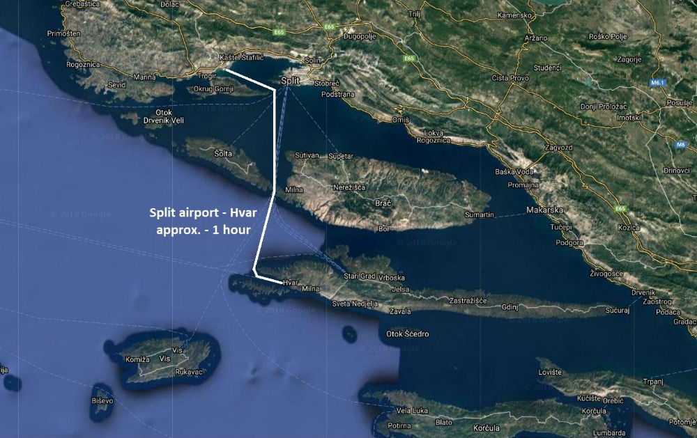 Split to Hvar
