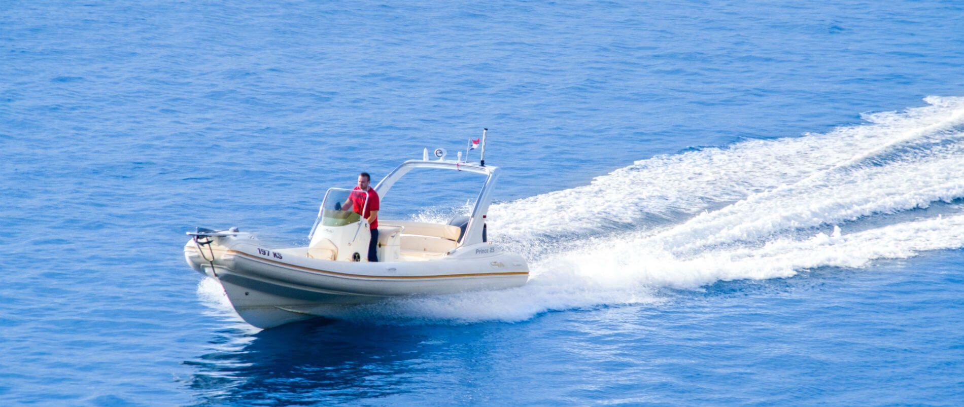 taxi boat Split