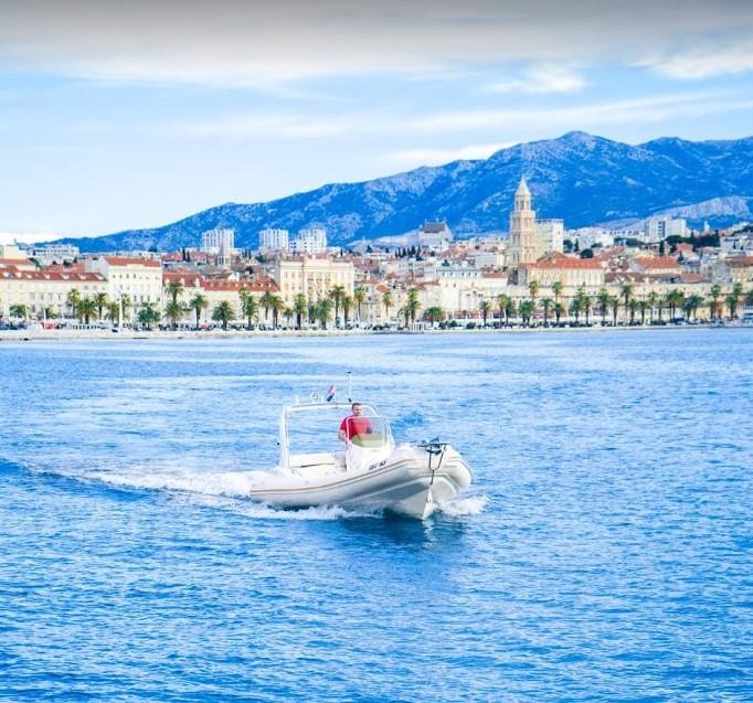 taxi boat split croatia hvar